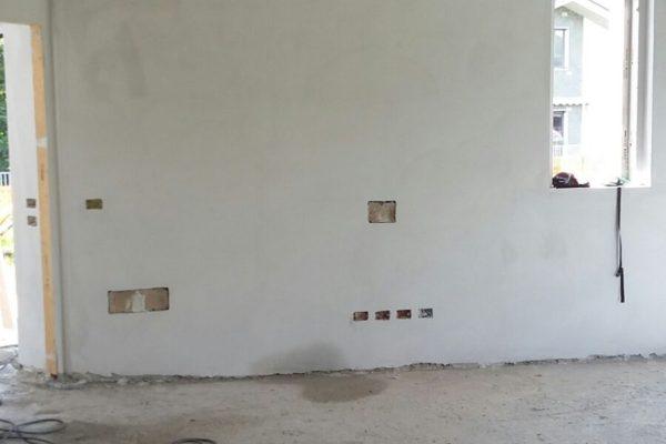 Intonaco premiscelato per interni cemento armato for Intonaco rustico